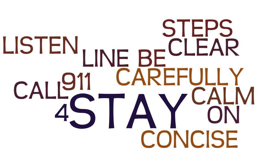 4 STEPS TO MAKING SUCCESSFUL 911 CALLS